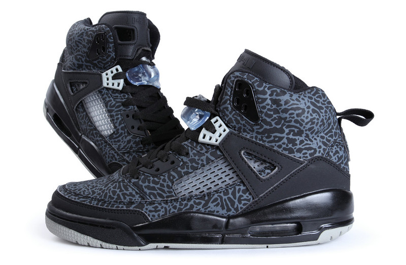 Original Air Jordans Spizike Classic Black