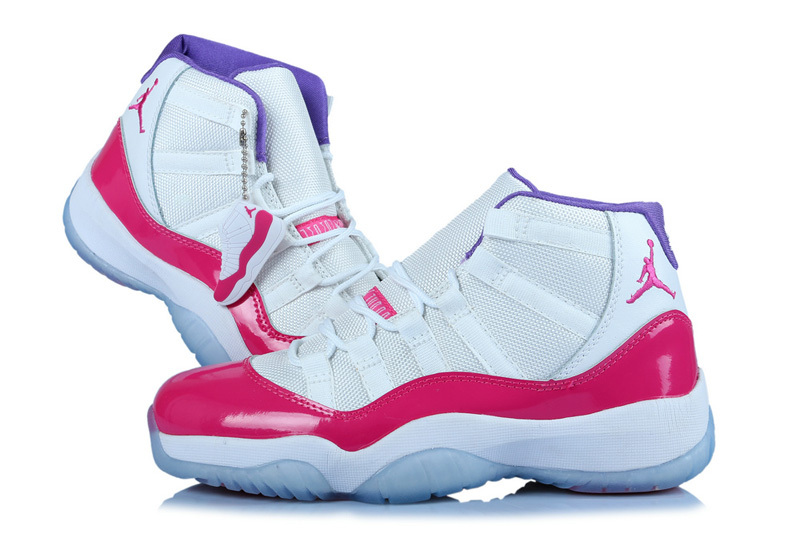 Original Jordan 11 Classic White Red For Women