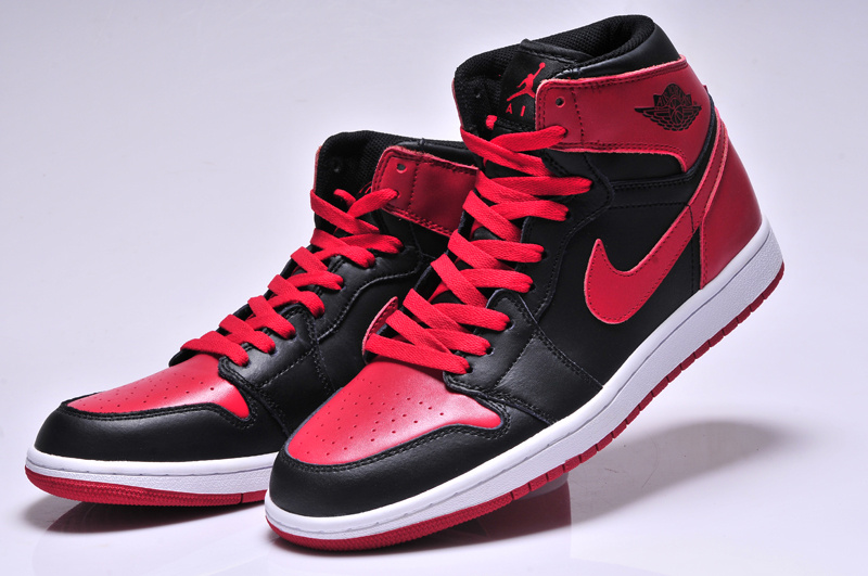 Original Jordans 1 High Red Black White_01