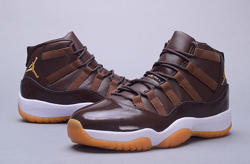 Original Jordans 11 Monster Chocalate Shoes