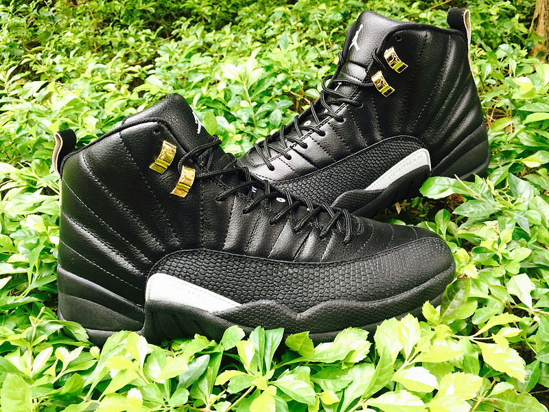 Original Jordans 12 12 Master Black Shoes