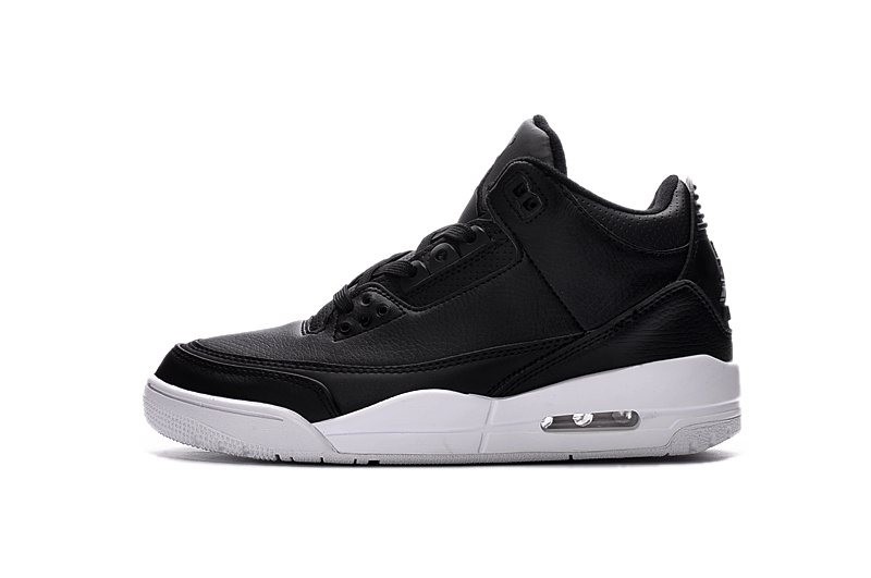 Original Jordans 3 Retro 2016 Black White Lover Shoes
