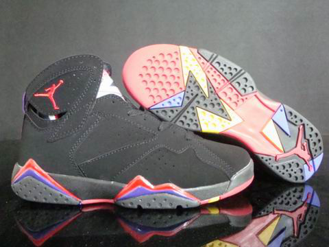 Original Jordans Classic 7 Dark Red Blue