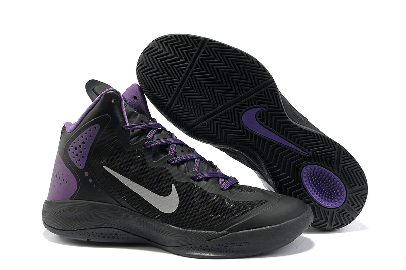 Original Nike Blake Griffin 2 Retro Black Purple Shoes