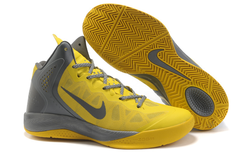 OriginalNike Blake Griffin 2 Retro Yellow Grey Shoes
