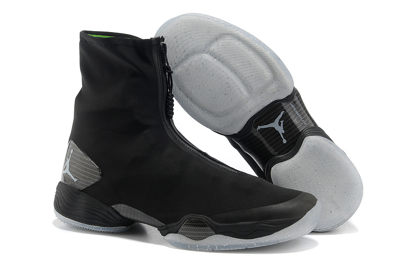 Retro 2013 Air Jordan 28 Original Black Grey Shoes