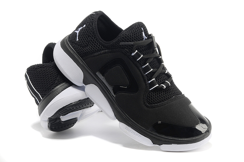 Retro 2013 Air Jordan Original Running Shoes Black White