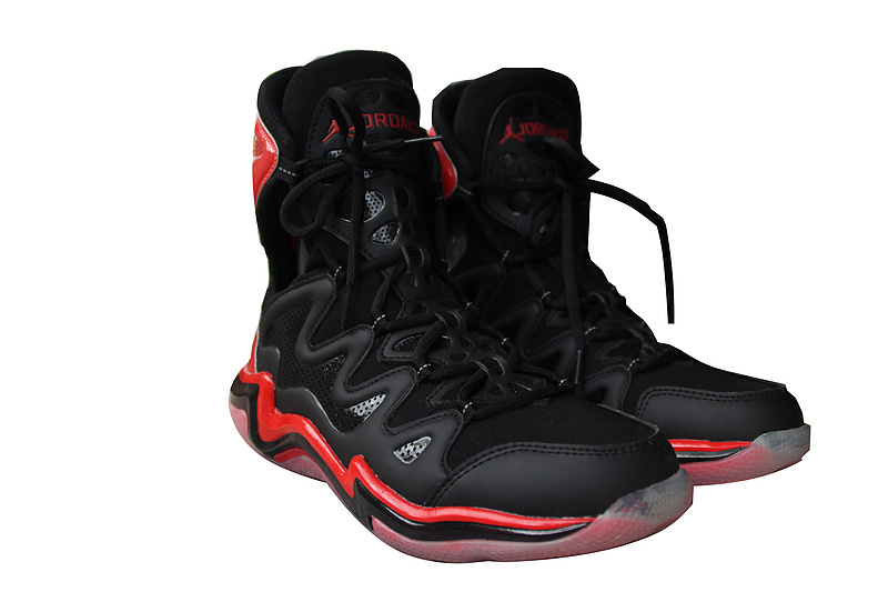 Retro 2014 Air Jordan 29 Original Black Red Shoes_29
