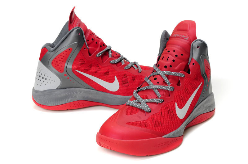 Retro Nike Blake Griffin 2 Original Dark Red Grey Shoes