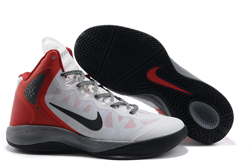 Retro Nike Blake Griffin 2 New White Black Red Shoes