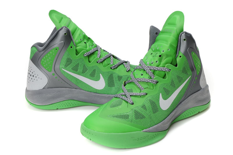 Retro Nike Blake Griffin 2 Original Green Grey White Shoes