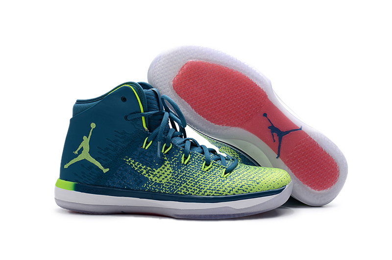Women Jordans 31 Brazil Theme Basketball Shoes