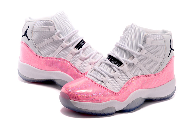 Women Jordans 11 Trendy Fashion Pink SHoes