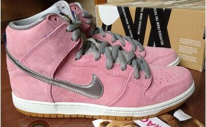 Women Nike Dunk High SB Flying Pig Shoes