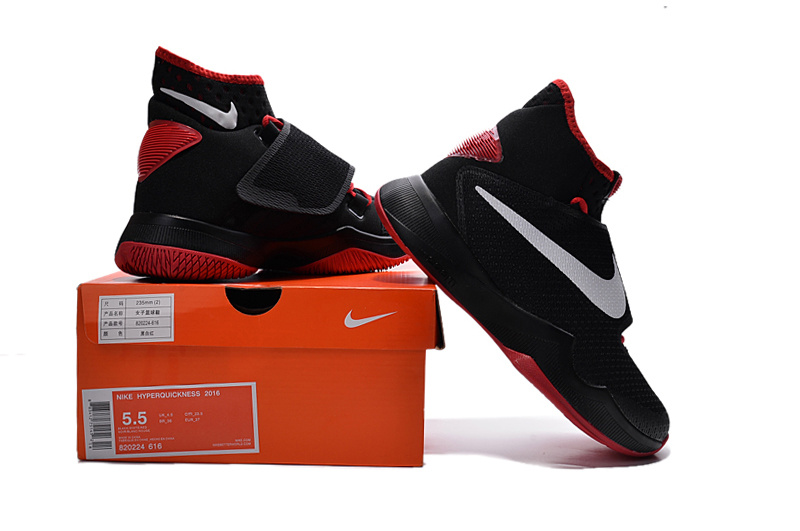 Nike Hyperrev 2015 Black Red White For Women