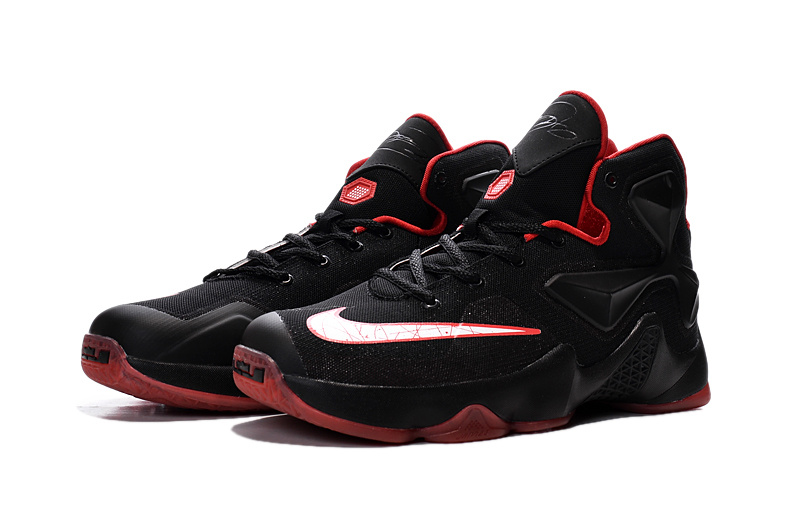 Nike Lebron James 13 Black Red Women Size For Sale