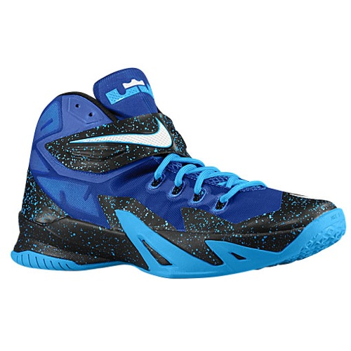 Nike Lebron Solider 7 Blue Black Basketball Shoes